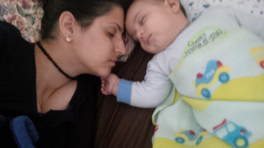 שירן ותינוק