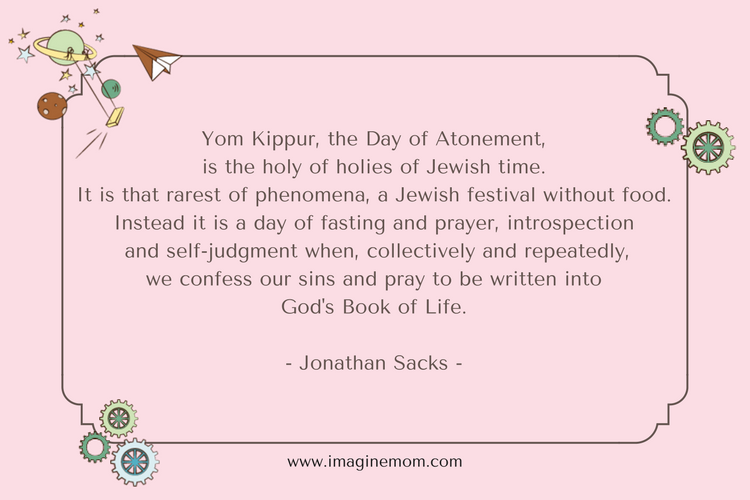yom kippur, the day of atonemet, is the holy of
