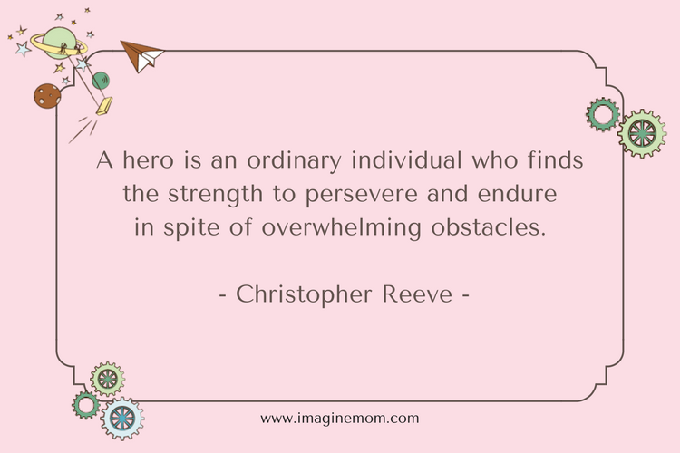 a hero is an ordinary indivdual who finds the strength to preserve and endure in